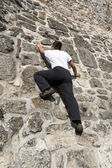 Freeclimber — Stockfoto