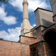 Stock Photo: Minaret at HagiSofiin Istanbul