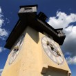 Old clock tower in Graz — Stock Photo