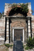 Golden door entrance, Istanbul — Stock Photo