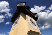 Vecchia torre dell'orologio a graz — Foto Stock