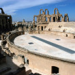 El Jem in Tunisia - Stock Photo