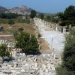 Ancient temple in Ephesus — Stok Fotoğraf #2415248