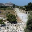 Ancient temple in Ephesus — Stock Photo