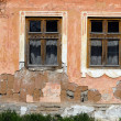 Close-up of old house wall - Stock Photo