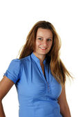 Young attractive female model — Stock Photo