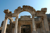 Ancient temple in Ephesus — Stock Photo