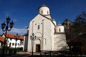 Monasterio ortodoxo serbio mileseva — Foto de Stock