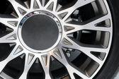 Close up image of wheel — Stock Photo