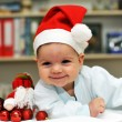Baby Santa Claus — Stock Photo