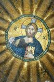 耶稣基督的马赛克 — 图库照片