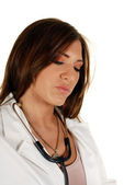 Young attractive female doctor — Stock Photo
