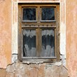 Old house wall and window — Stock Photo