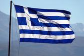 Flag of Greece — Stock Photo