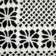 White crochet doily — Stock Photo