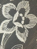 Lace fabric — Stock Photo