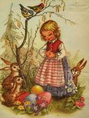 Easter scene — Stock fotografie