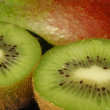 Kiwi and mango - Stock Photo