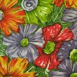 Stock Photo: Floral fabric