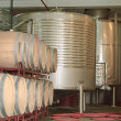 Stock Photo: Modern wine factory