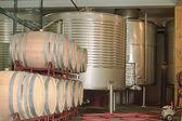Modern wine factory — Stock Photo