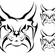 Royalty-Free Stock Vector Image: Tattoo Lynx