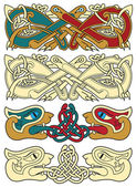 Celtic motifs — Stock Vector