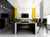 Modern room for meetings — 图库照片