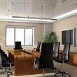 Stock Photo: Office boardroom