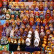 Tray of souvenirs — Stockfoto