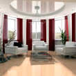 Stock Photo: Modern drawing room