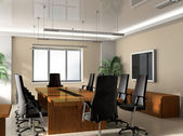Office boardroom — Fotografia Stock