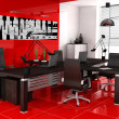 Red office — Stock Photo