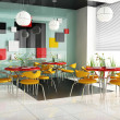 Modern cafe - Stock Photo