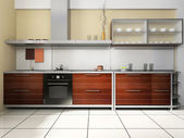 Kitchen set — Stock Photo