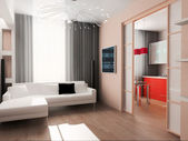 Moderne interieur — Stockfoto