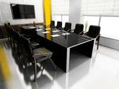 Modern room for meetings — Stockfoto