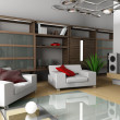 Modern interior of apartment — Stock Photo #2220749