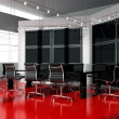 Modern  interior room for meetings - Zdjęcie stockowe