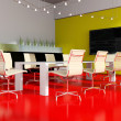 Stock Photo: Modern interior room for meetings