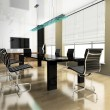 Stock Photo: Modern interior of office