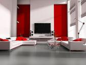 Tv room — Stock Photo