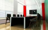 Moderna rum för möten — Stockfoto