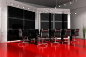 Modern interior room for meetings — Stockfoto