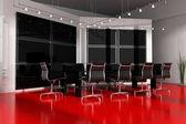 Moderna sala interna per riunioni — Foto Stock