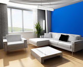 Drawing room 3d — Stock Photo
