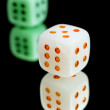 Stock Photo: Dice