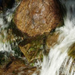 Motion blurred water — Stock Photo