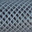 Roll of Wire fence - Stockfoto