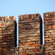 Fortified brick wall — Stock Photo #2208399